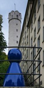 Bauer schützt Turm – Hans Werner