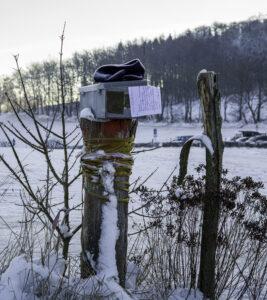 Nachricht im Schnee – Karl Röser