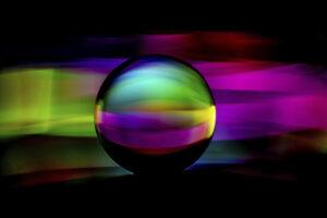 Bunte Glaskugel – Peter Krieger