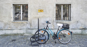Fahrrad anlehnen verboten – Udo Krämer